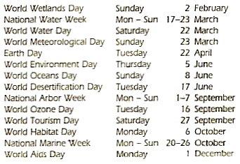 calendar and religious holy days 2014 environmental calendar 2014